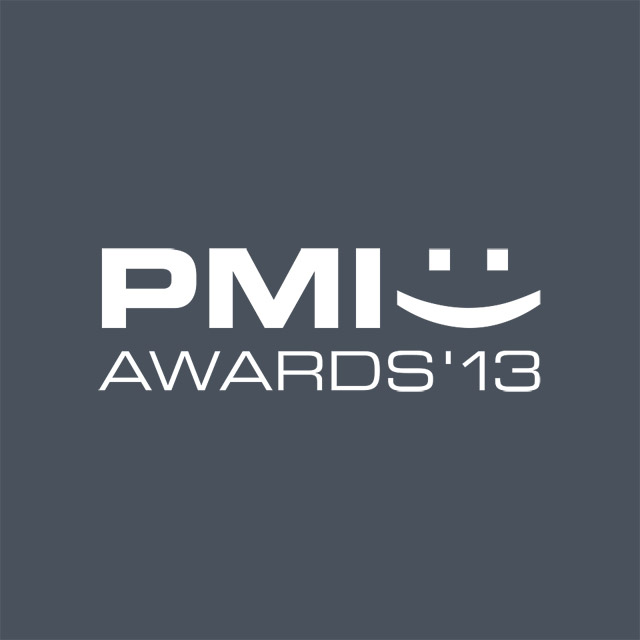 Logo PMI Awards 2013