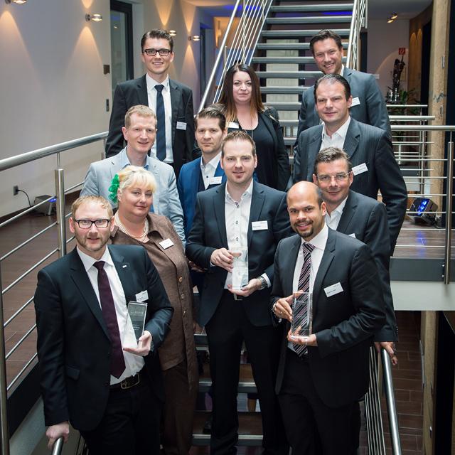 Preisträger, Laudatoren und Jury der PMI Awards 2015 · Foto: WESTPRESS/Martin Steffen
