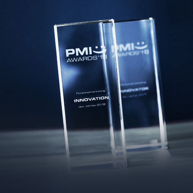 Ansicht Glasquader PMI Awards 2018