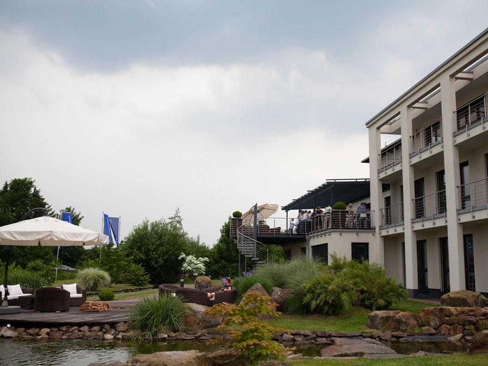 Außenanlage Westpress während der dee:p
